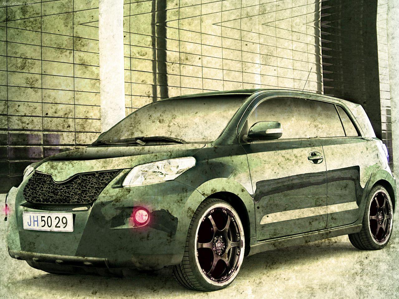 Toyota scion xd urban cruiser wallpaper by andalverz deviantart com on deviantart