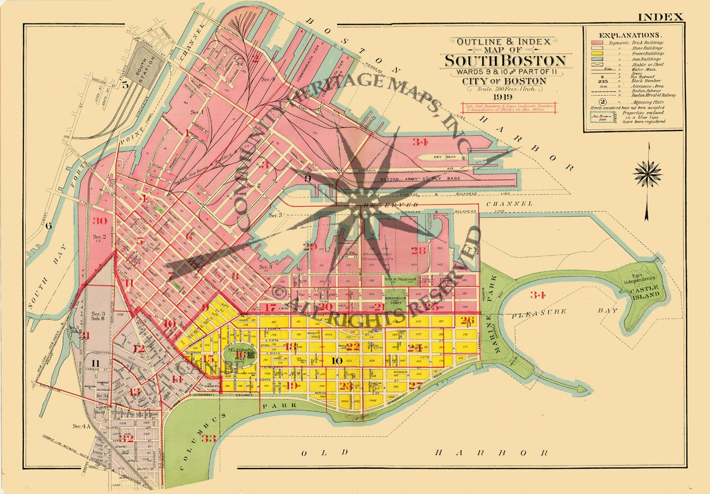 map of south boston massachusetts Wish I Could Change The Colors South Boston South Boston map of south boston massachusetts