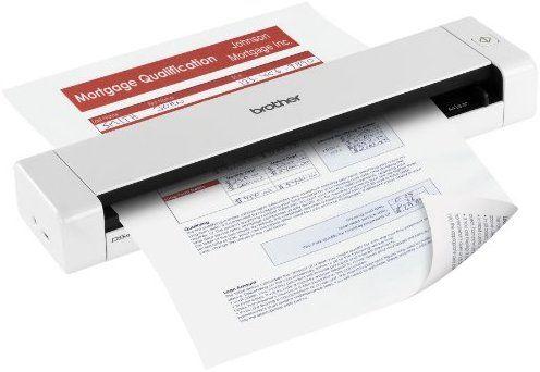 Brother Ds 720d Mobile Duplex Color Page Scanner Mobile Scanner Scanners Digital Filing System
