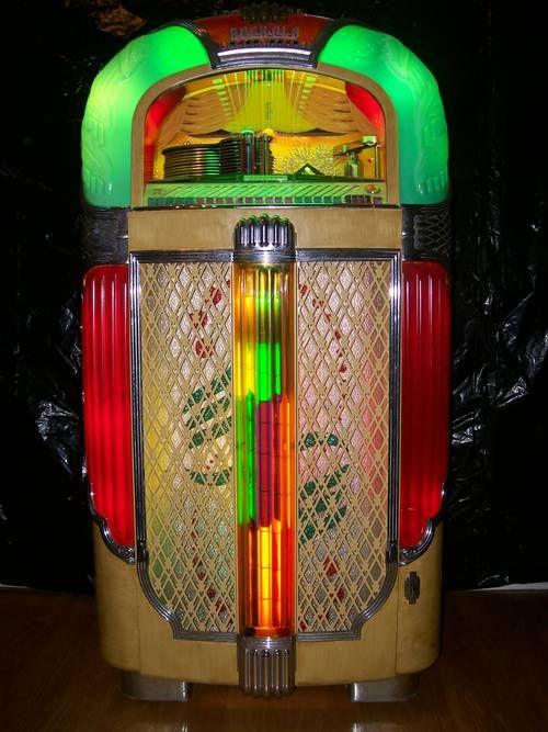 1948 Rock Ola Model 1428 Old Jukeboxes Pinball Machines