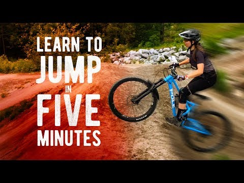 151 Learn To Jump A Mountain Bike In 5 Minutes From A