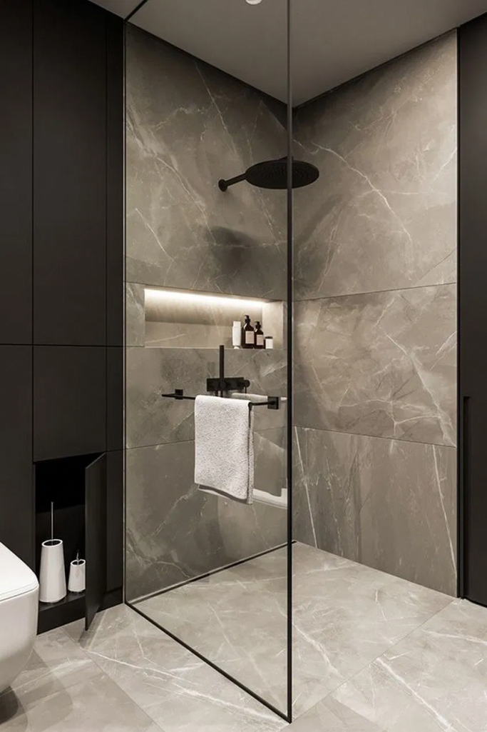 BEST 50 MODERN BATHROOM DESIGNS - Modern