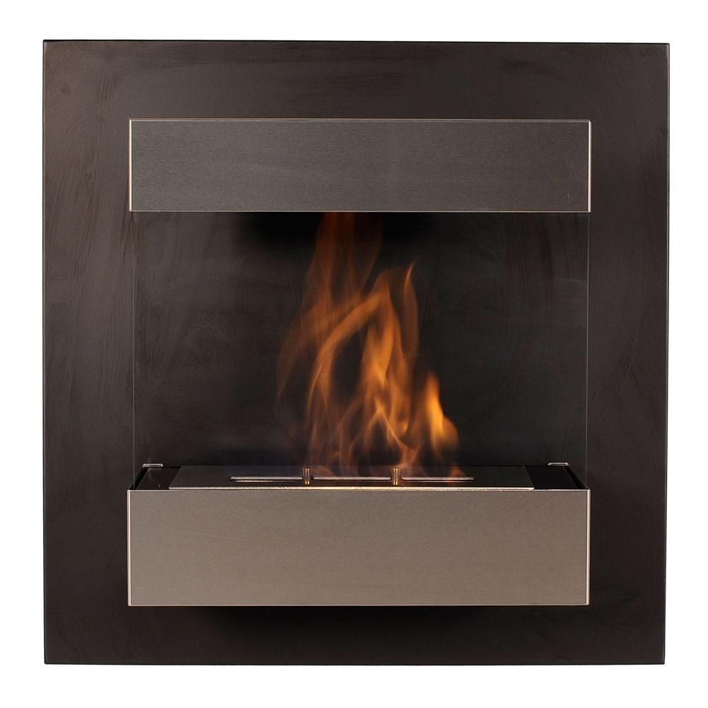 Wall Mounted Fireplace Curated By Ductworks Heating