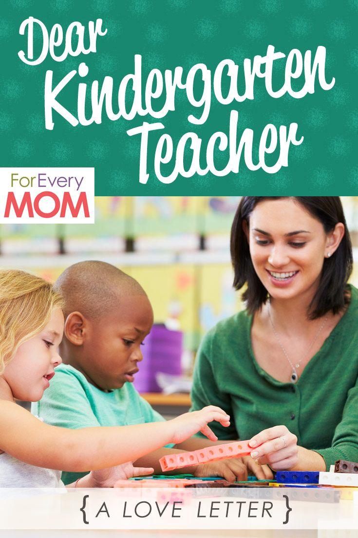Dear Kindergarten Teacher You Re My Hero With Images