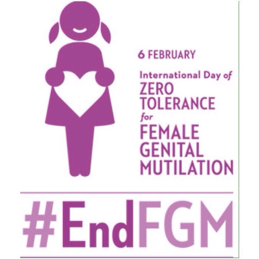Today (Feb 6th) is the International Day of Zero Tolerance to Female Genital Mutilation. This #UN designated day is an awareness campaign to end a harmful practice that violates girls and womens rights. Female genital mutilation (FGM) comprises all procedures that involve altering or injuring the female genitalia for non-medical reasons. About 120 to 140 million #women have been subject to #FGM and 3 million #girls are at risk each year according to the World Health Organization (WHO)…