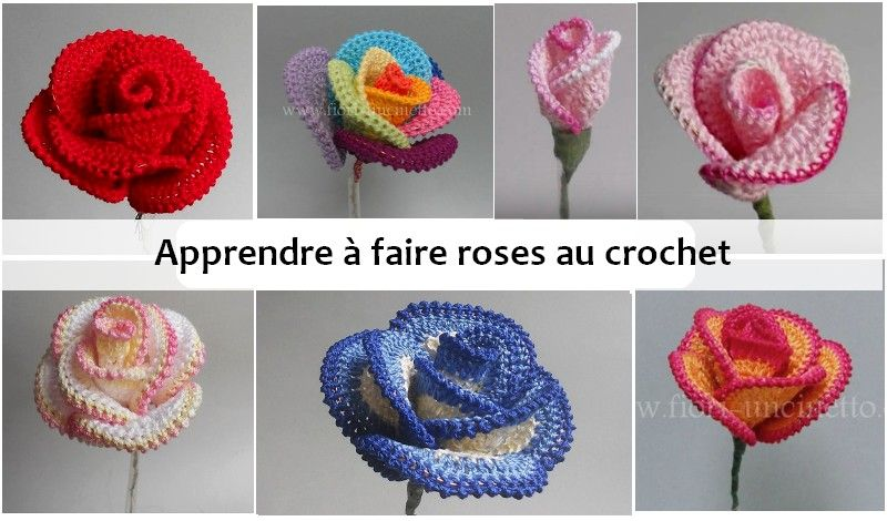 rosas ganchillo fran a tricot crochet crochet motif et knitting. Black Bedroom Furniture Sets. Home Design Ideas