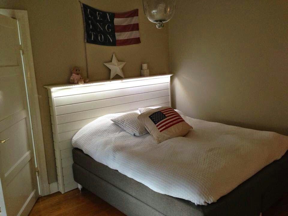 Sänggavel med lampor lexington u2665 u2665 u2665 u2665 u2665återbruka Pinterest Sänggavel, Lampor och Sovrum