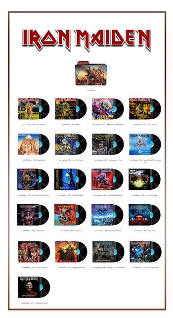 Album Art Icons Iron Maiden Bandas Cantores Musica