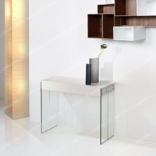 Giovanni Marchesi Design Table Console 4 Allonges Laque