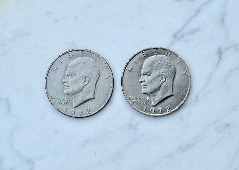 1972 Eisenhower D Dollar BU