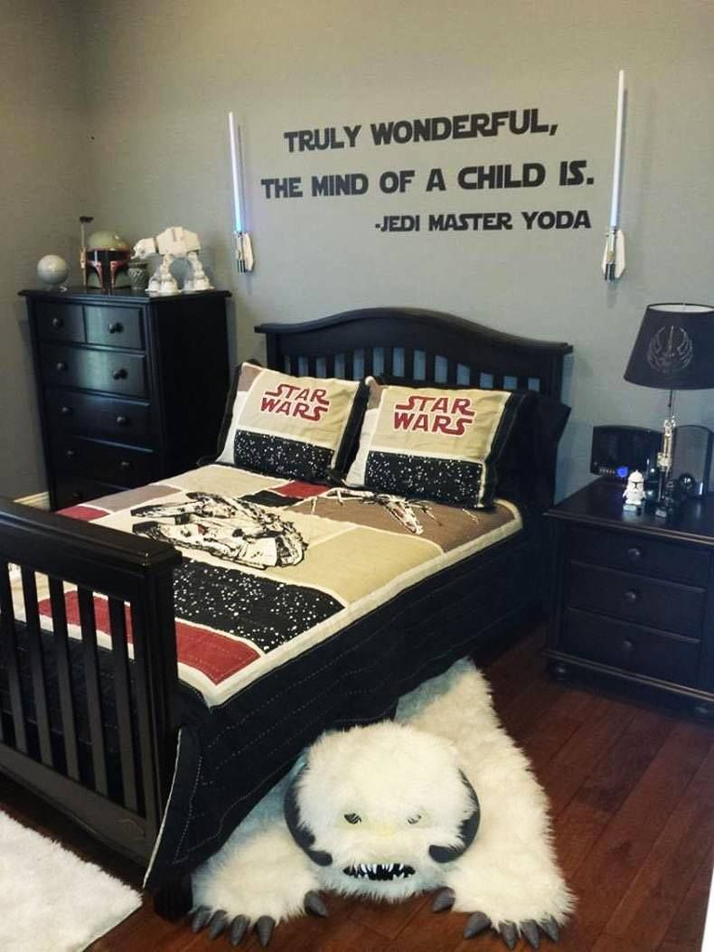 Dream Bedroom Am I Right Starwars Repinned By Apraxia Kids Learning Come Join Us On Facebook At Star Wars Themed Bedroom Star Wars Bedroom Star Wars Room