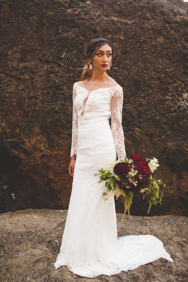 Graceful elegance from an era past bridal portraits