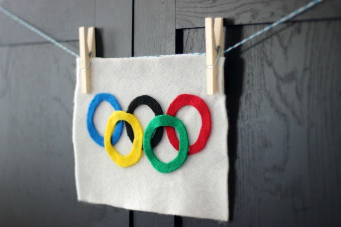 A simple do it yourself olympic rings flag activity that kids can little passports off coupon diy olympics flag get into the excitement of the olympics with this little passports free olympic flag craft solutioingenieria Images
