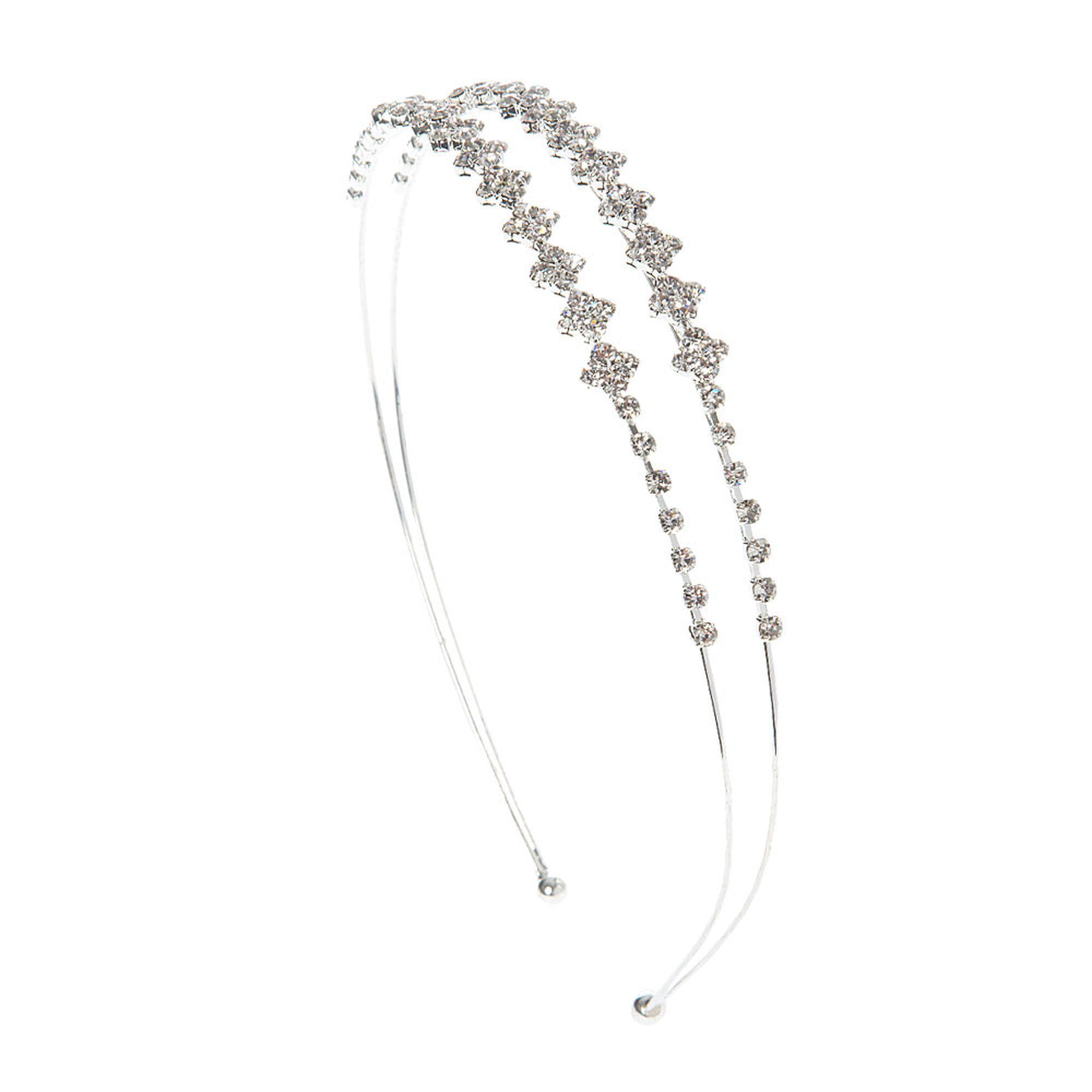 Crystal Diamonds Double Row Headband | Wedding Must-Haves ...