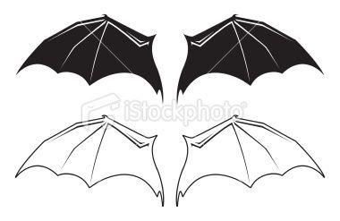 Bat Wings Royalty Free Stock Vector Art Illustration Bat Wings Wings Drawing Wings Sketch