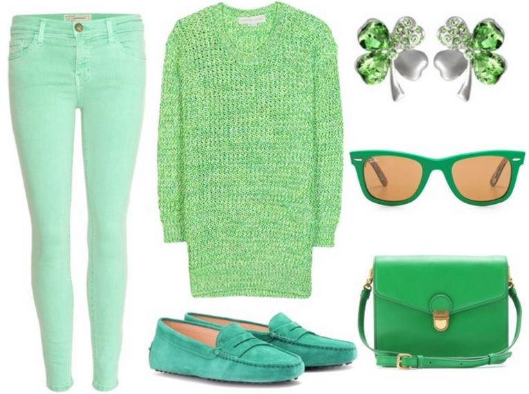 Casual St Patrick's Day Outfit - 40 Best St. Patrick's Day OUTFITS!!!!!!!! Images On Pinterest