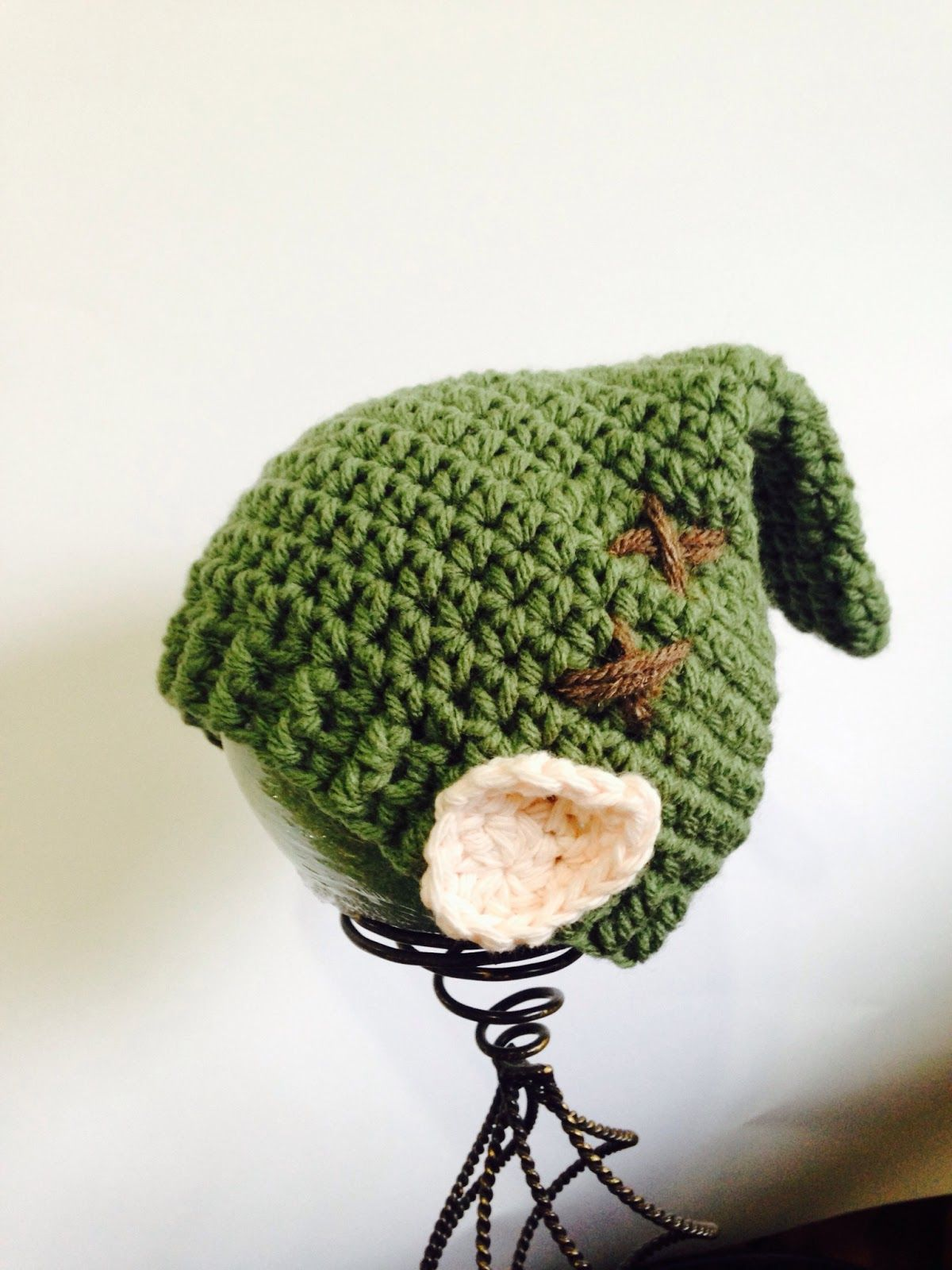 My Link hat was a hit and many people keep asking for the pattern ...