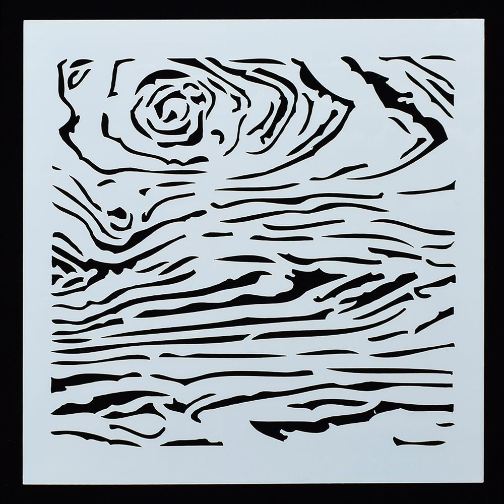 Craft Stencil Airbrush Wood grain stencil Wood Stencil Card making