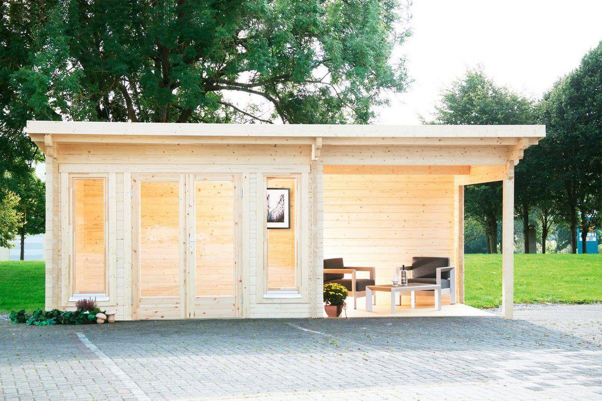 FINNHAUS Set Gartenhaus »Trondheim 70D XL«, BxT 670x450