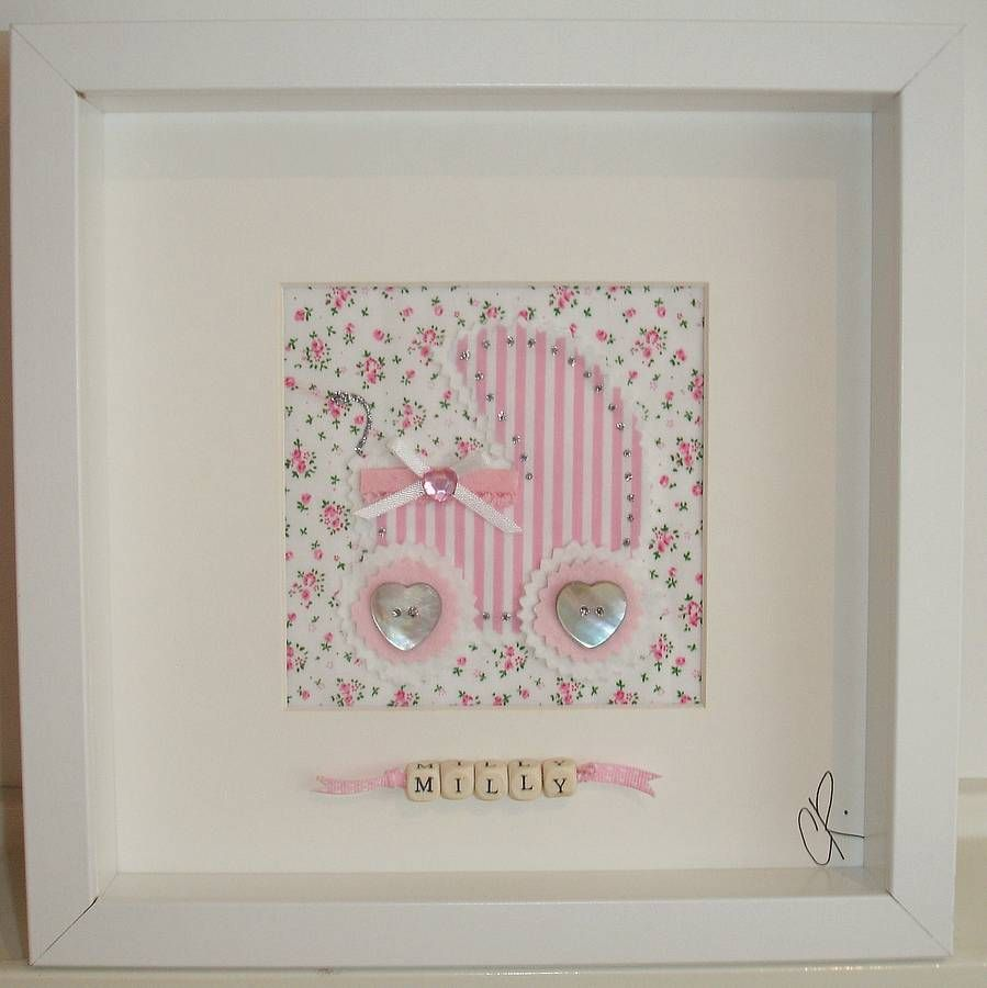 Personalised baby girl pram picture from notonthehighstreet personalised baby girl pram picture from notonthehighstreet jeuxipadfo Choice Image