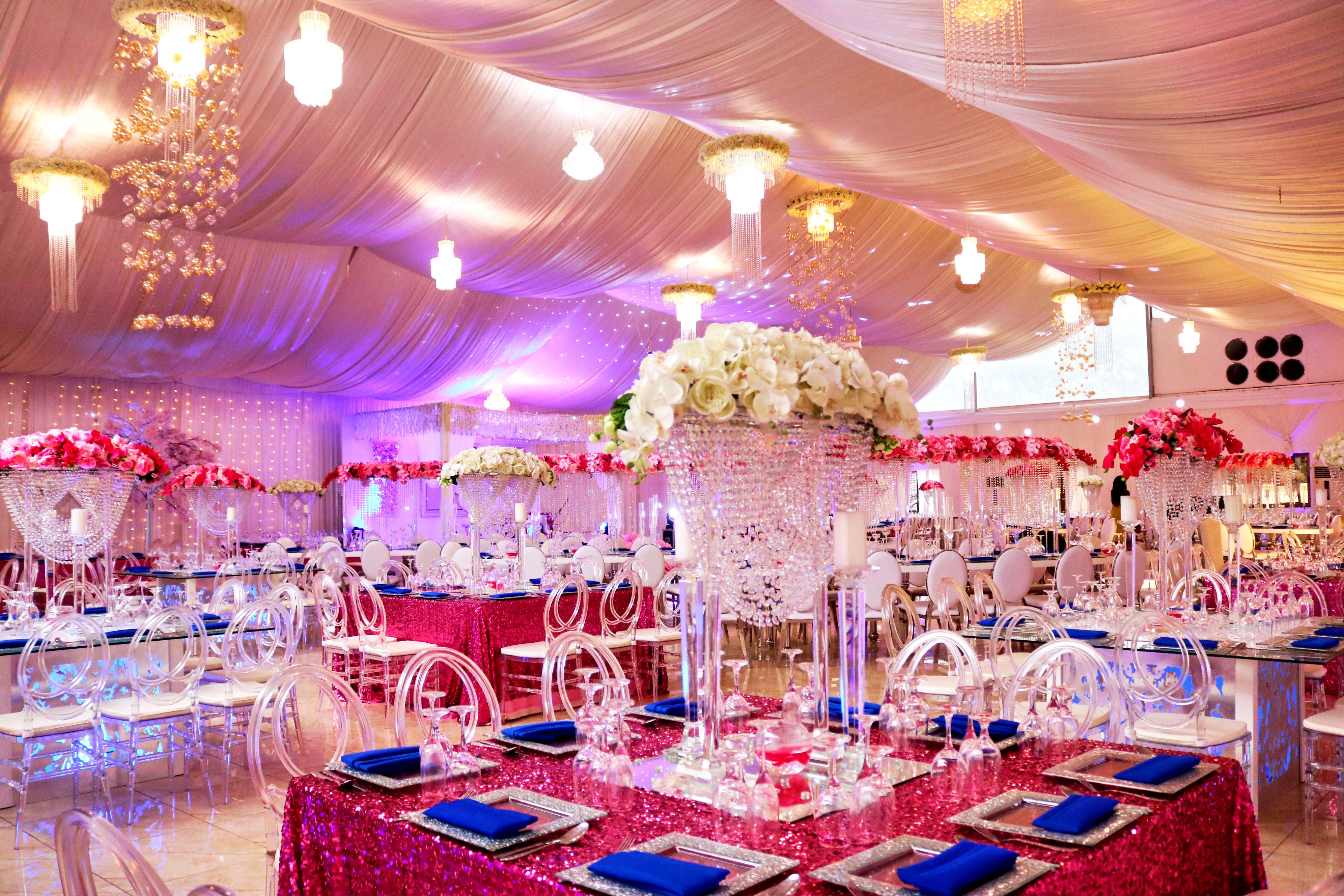 Beautiful Ghanaian Wedding Reception Decor By Unique Floral Ghana At