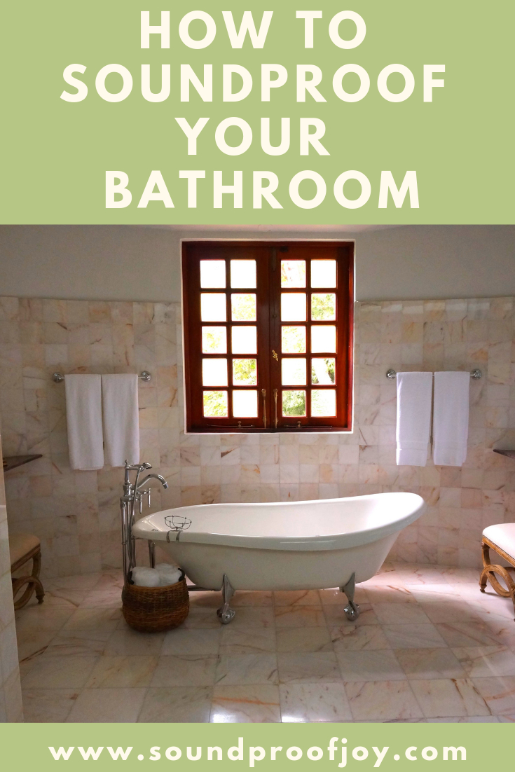 How To Soundproof A Bathroom With Images Sound Proofing
