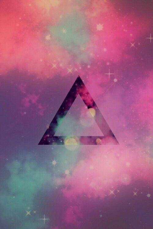 |Wallpaper| Hipster, Triangle (Triângulo), Galaxy (Galáxia ...