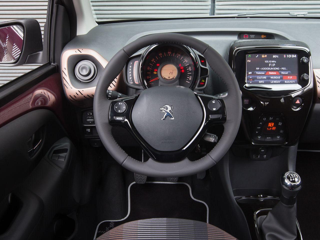2014 Peugeot 108 Top