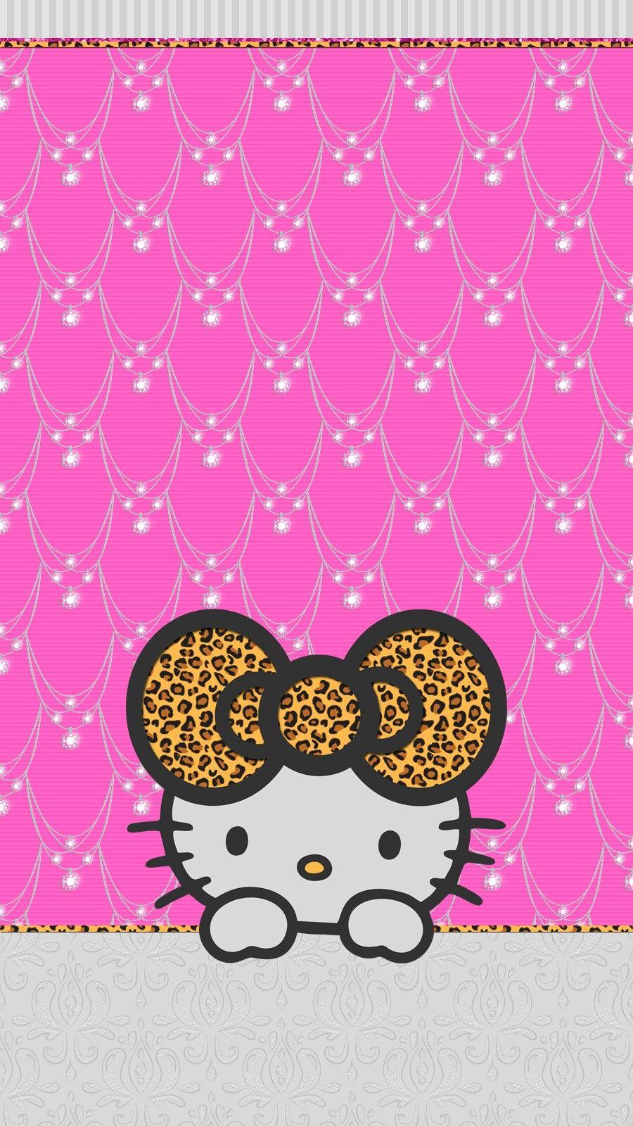 Pink Diamonds Wallpaper Iphone Hello Kitty Wallpaper