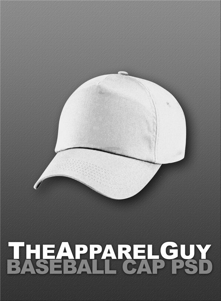 Download Baseball Cap Psd By Theapparelguy On Deviantart Baseball Card Template Baseball Cap Baseball