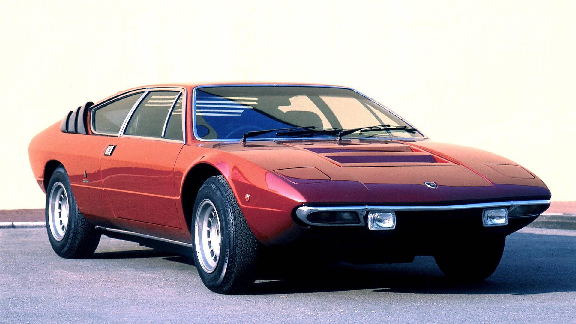 Lamborghini Urraco Designed By Bertone And Gandini
