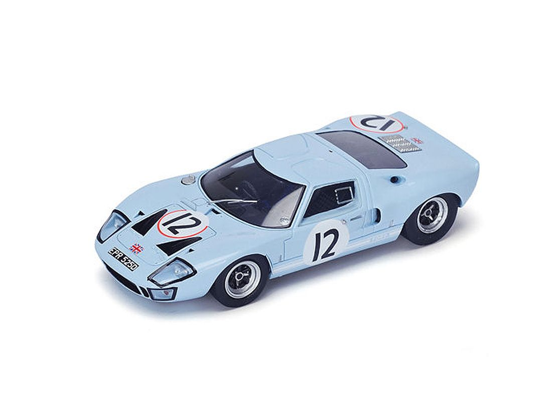 Spark 1 43 Ford Gt40 Resin Model Car S4072 This Ford Gt40 No 12