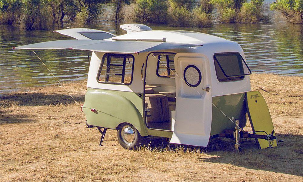 Happier Camper A Small And Modern Camper Tiny Camper Trailer