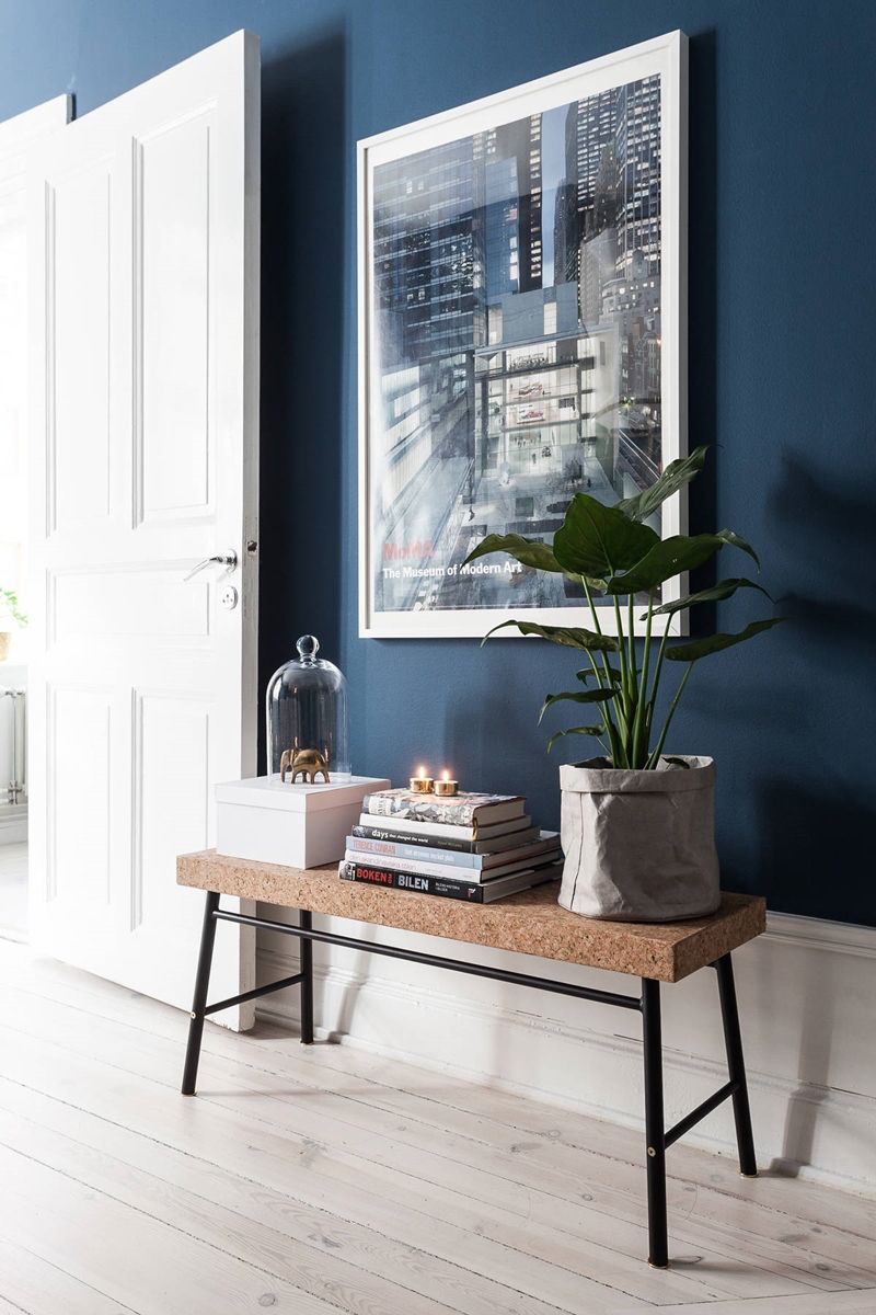 De kleur donkerblauw in je interieur - - Kleur inspiratie ...