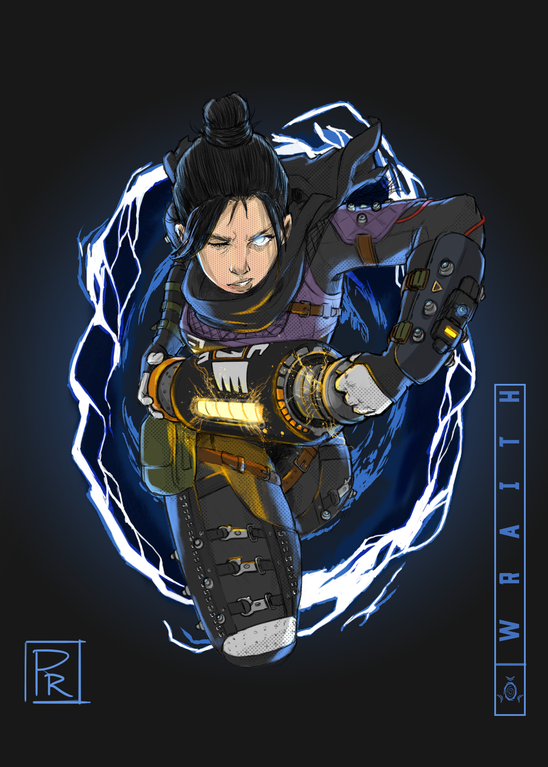Wraith By Thelastiso Apex Legends Apex Legend Warrior Girl