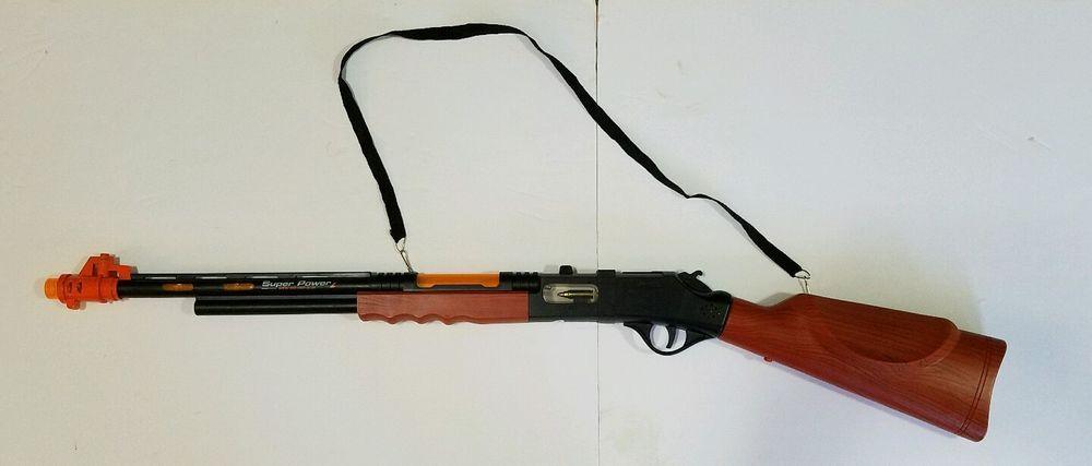 wooden machine toy gun vintage