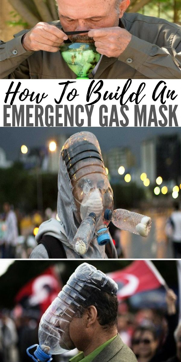 How To Build An Emergency Gas Mask | SHTFPreparedness