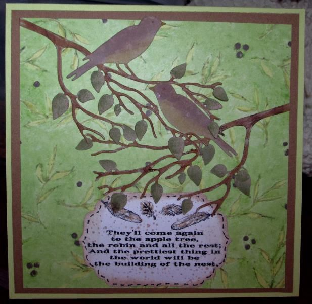 FS369, Robin's Nest_vg by Vicky Gould - Cards and Paper Crafts at Splitcoaststampers