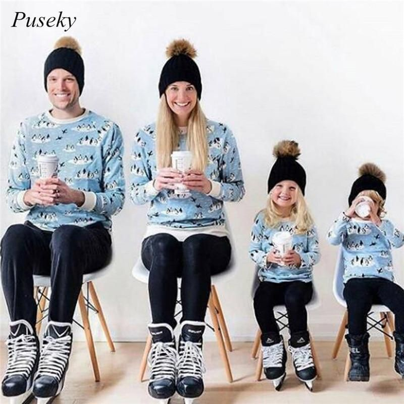 Mommy and Me Matching Faux Fur Pom Pom Hats  598b993a02fd
