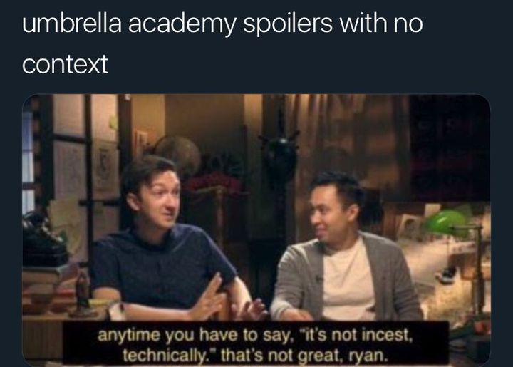 Umbrella Academy Memes Umbrella Academy Funny Umbrella