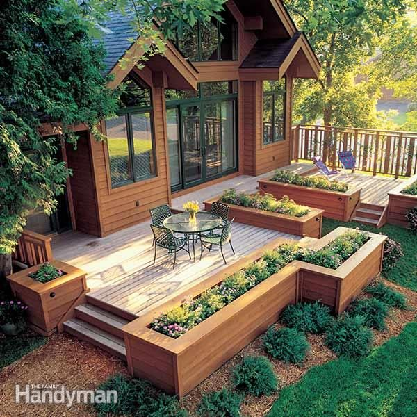 How to Build a Deck Thatu0027ll Last as Long as Your House Macetas - terrazas en madera