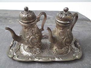 old teapot salt and pepper | Vintage Ki Occupied Japan