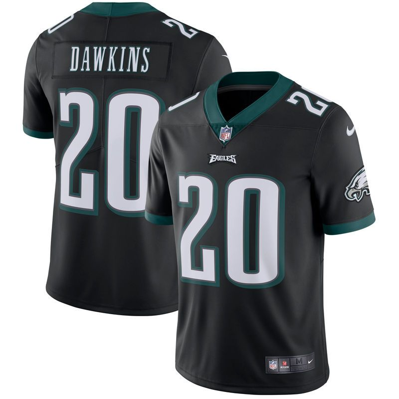 newest aeb40 fe157 Brian Dawkins Philadelphia Eagles Nike Retired Player Vapor ...