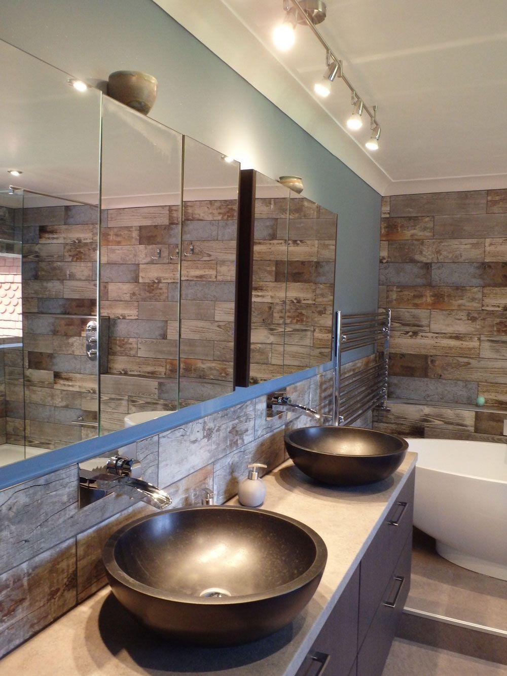 Customer Style Focus Rachel S Reclaimed Wood Bathroom Wood