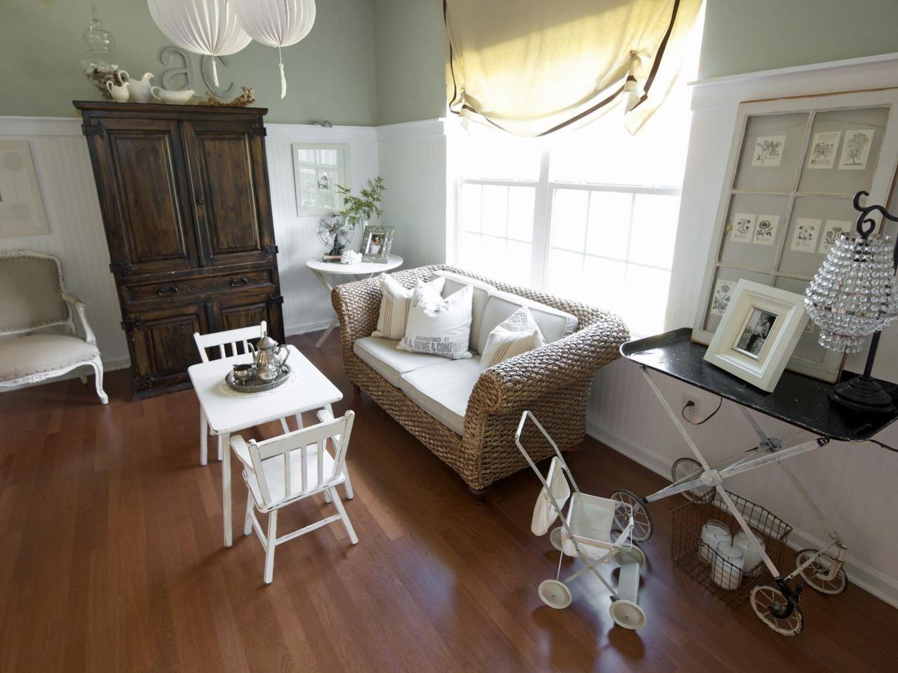 neutral cottage kids' room  kid room decor white cottage