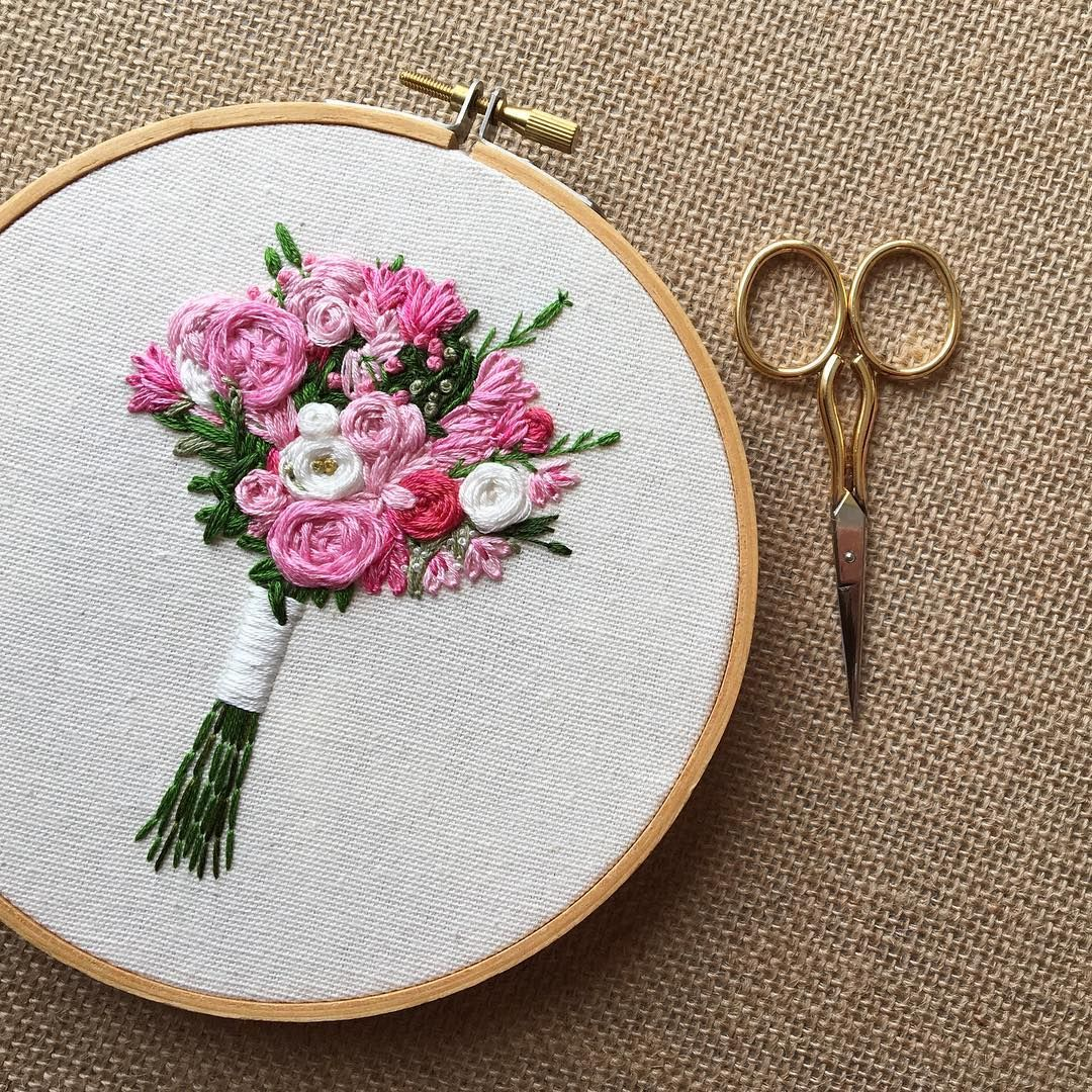 M y r t h flowers the fairest pinterest hip hip and embroidery