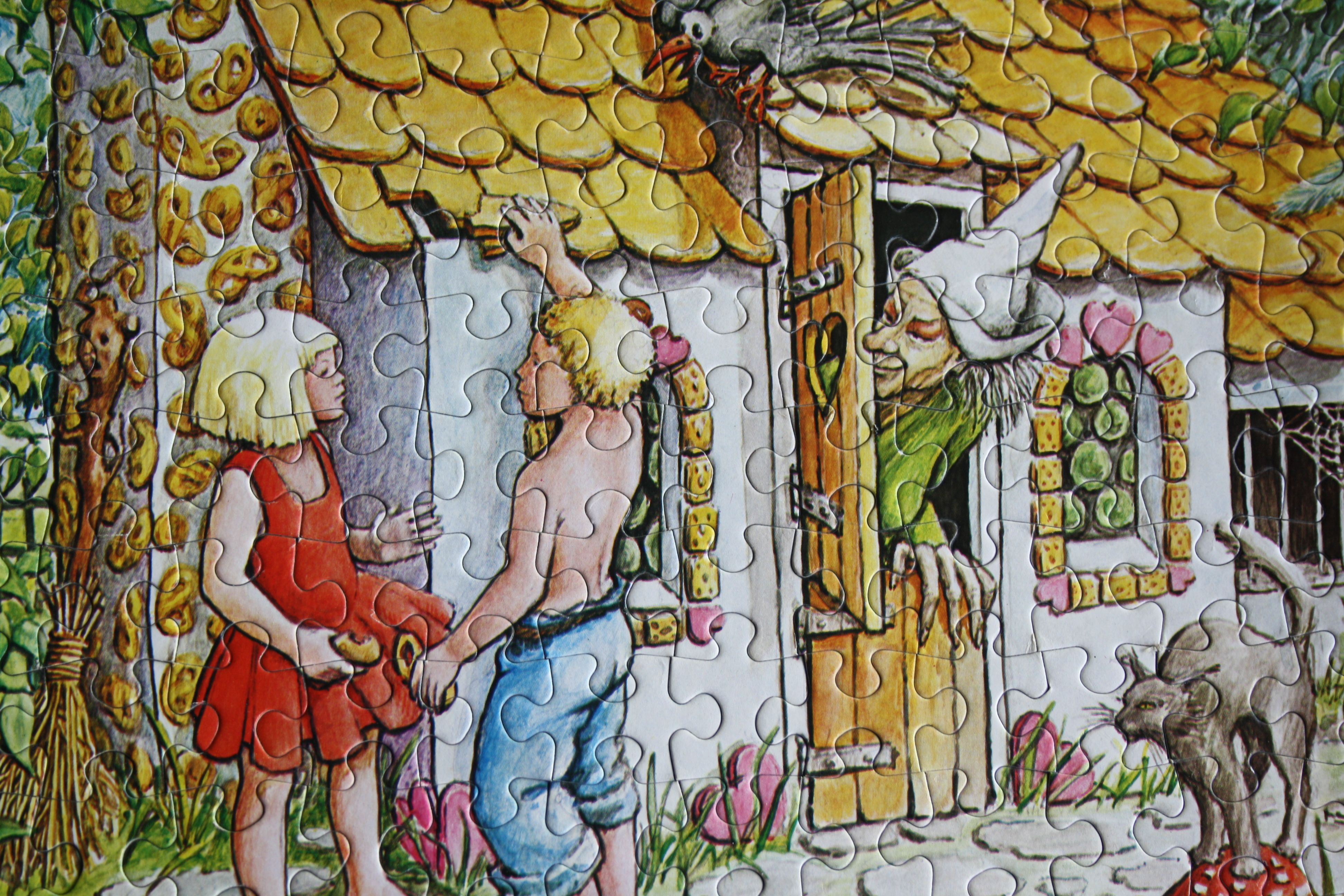 Fairy Tale 140 Pieces Hansel And Gretel Seriewh 140 F