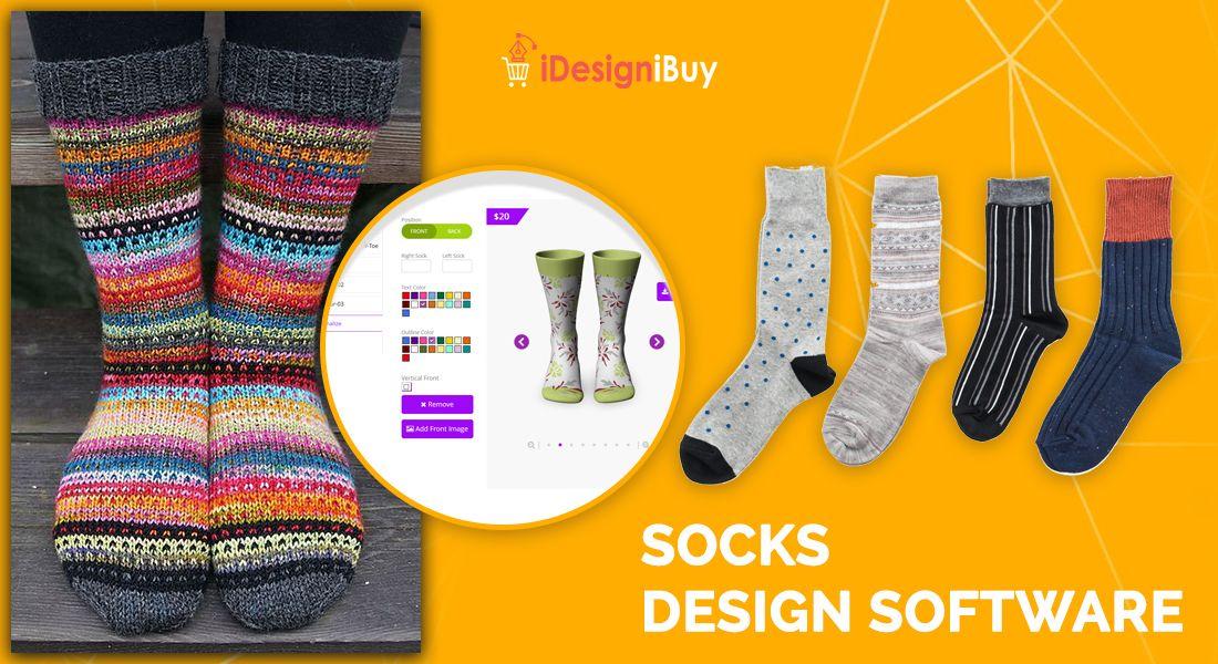 Custom Made Sock Design Software | iDesigniBuy | Designer socks