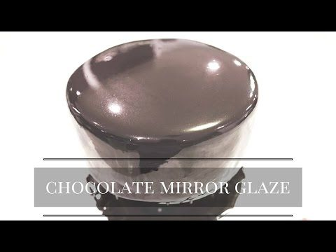 The EASIEST 'Chocolate Mirror Glaze' recipe - CAKE QUIRK - YouTube