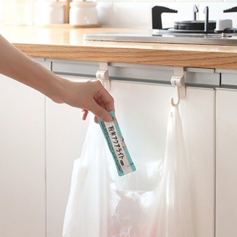 Kitchen Sink Cabinet Door Hooks Hooked 2 Rear Doors Garbage Bag